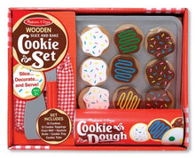 Load image into Gallery viewer, Melissa & Doug Wooden Slice & Bake Cookie Set