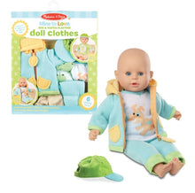 Load image into Gallery viewer, Melissa & Doug Mine to Love Doll Clothes