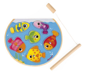 Janod Speedy Magnetic Fish Puzzle