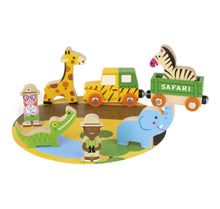 Load image into Gallery viewer, Janod Safari Story Wooden Set