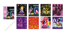 Load image into Gallery viewer, Janod Scratch Art Princesses Kit