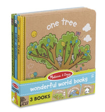 Load image into Gallery viewer, Melissa & Doug Wonderful World Book Bundle
