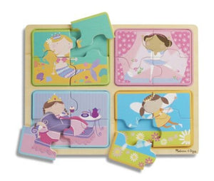 Melissa & Doug Natural Play Wooden Jigsaw Puzzle