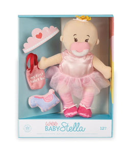 Manhattan Toy Wee Baby Stella Doll Tiny Ballerina Set