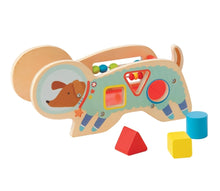 Load image into Gallery viewer, Manhattan Toy Wood Shape Sorter Space Dog