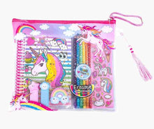 Load image into Gallery viewer, Hot Focus Coloring Journal Set, Unicorn