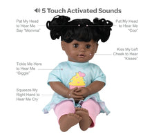 Load image into Gallery viewer, Adora Cuddle & Coo Baby Doll - Black Hair  Cuppy Cake