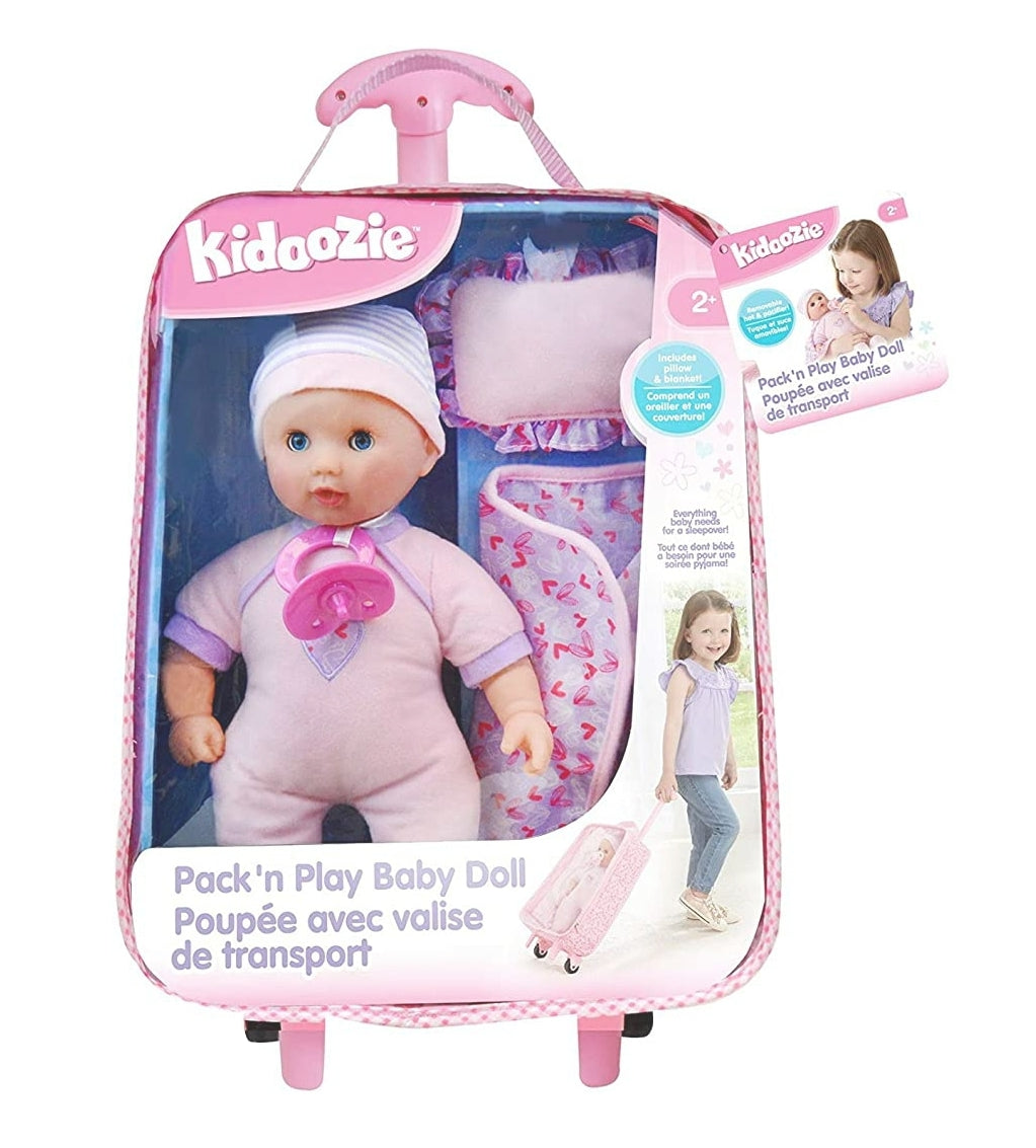 Kidoozie Pack 'n Play Baby Doll