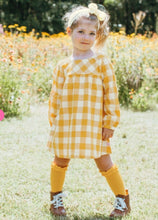 Load image into Gallery viewer, Ruffle Butts 3-Pack Ivory, Cranberry & Golden Yellow Ruffle Knee High Sock