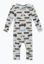 Load image into Gallery viewer, Posh Peanut CASH Long Sleeve Romper