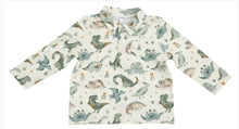 Load image into Gallery viewer, Angel Dear CRAYON DINOSAURS Polo & Cargo Pant Set