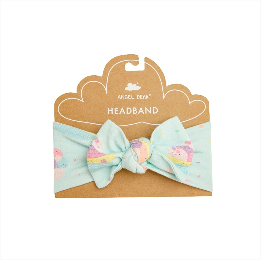 Angel Dear BANANA SPLIT Mint Headband