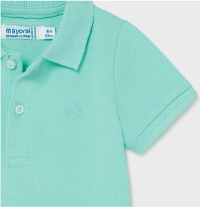 Mayoral Baby Boys POLO AQUA Basic Shirt
