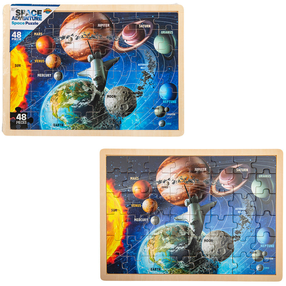 The Toy Network 48 Piece Space Puzzle