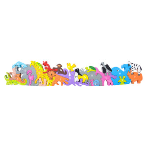"The Toy Network 23"" Long 26 Piece Alphabet Animal Puzzle"