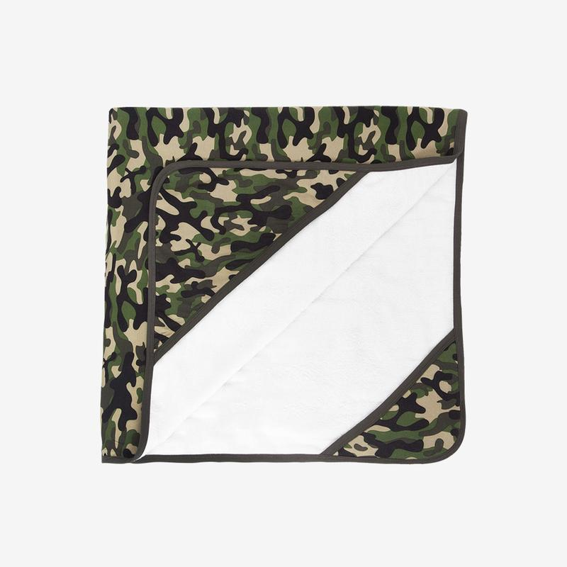 Posh Peanut CADET CAMO Hooded Towel