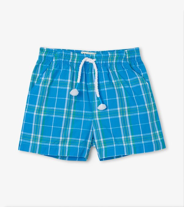 Hatley SUMMER PLAID Baby/Toddler Woven Shorts