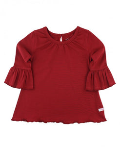 Ruffle Butts Cranberry Belle Top