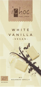 iChoc Organic White Vanilla Vegan Chocolate