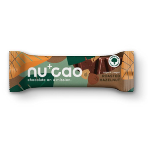 Nucao Roasted Hazelnut Chocolate Bar