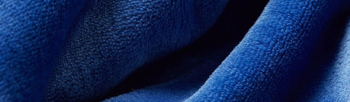 vellux blue weighted throw