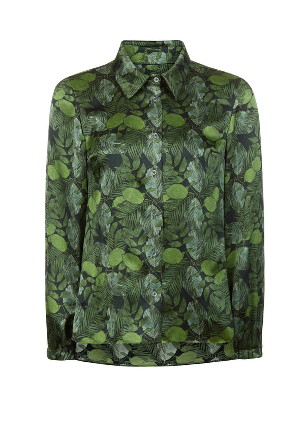 Phoebe Grace Green Leaf Nancy Shirt