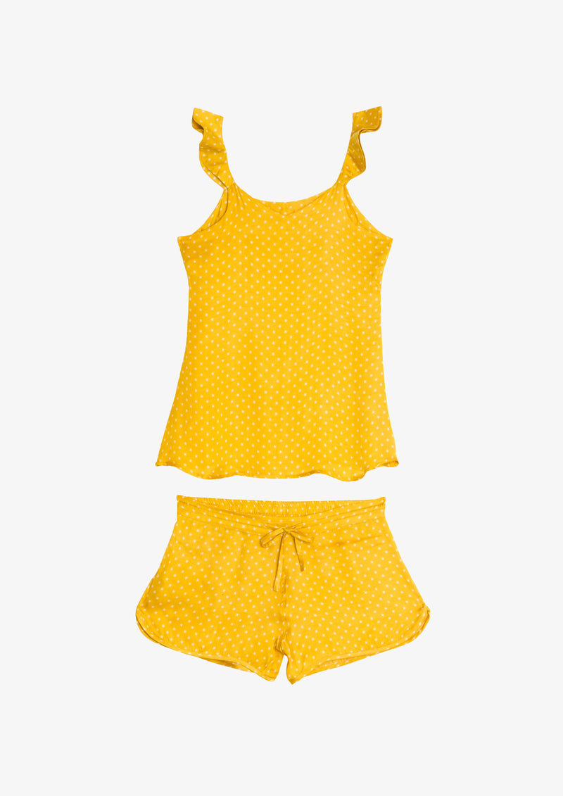 Kapara Cami Set in Yellow