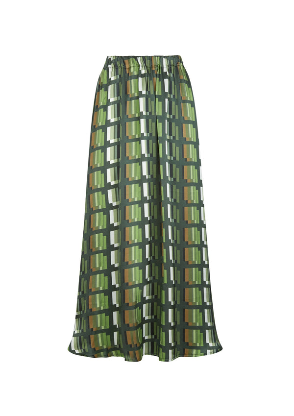 Phoebe Grace Green Check Plain Jane Skirt