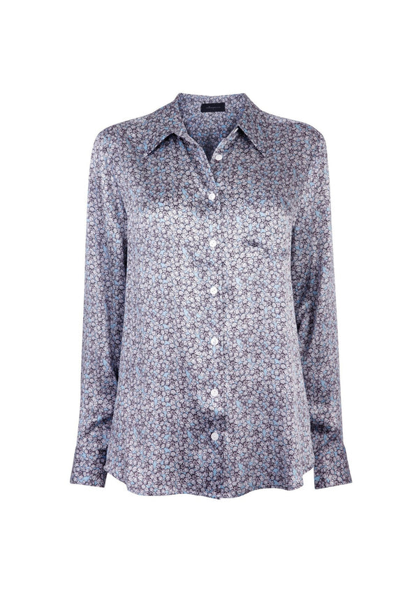 Jessica Russell Flint Slimline Shirt / ''Cornflower Wilds''