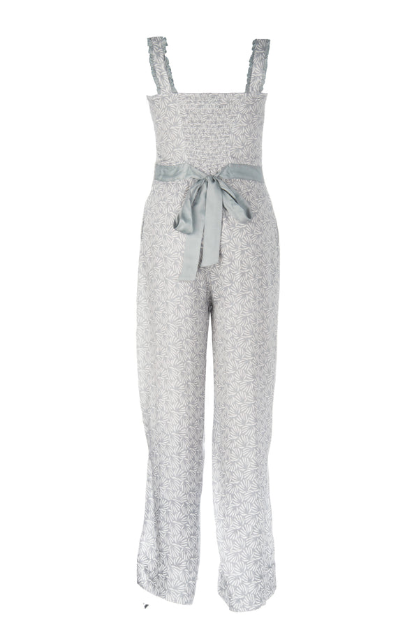 Kapara Blue / Grey Jumpsuit
