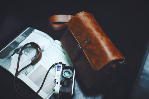 Leather Bag, Leather Camera Strap