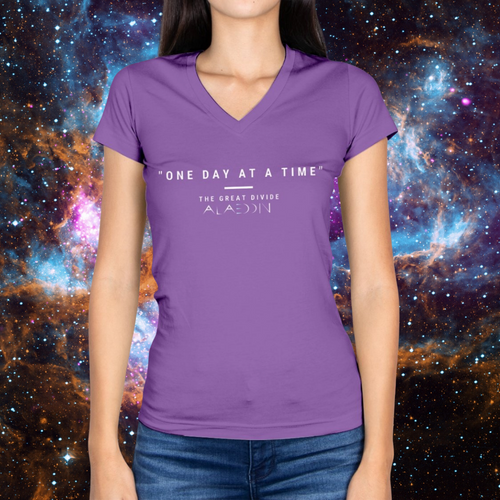 The Great Divide Ladies HD V Neck T