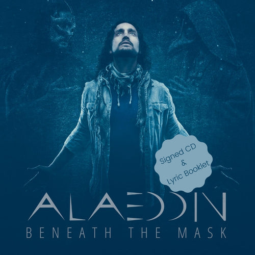 Beneath the Mask - (Deluxe Edition) Signed CD & Lyric Booklet