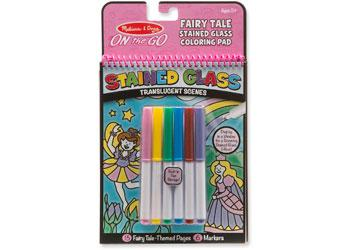 MND - ON THE GO - STAINED GLASS - FAIRY TALE | M D ON THE GO | Toyworld Frankston
