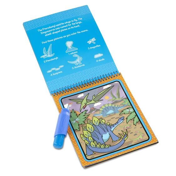 MELISSA & DOUG - ON THE GO - WATER WOW DINOSAUR