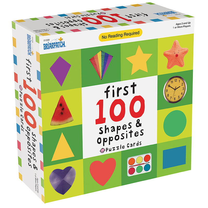 FIRST 100 SHAPES & OPPOSITE | Toyworld Frankston | Toyworld Frankston