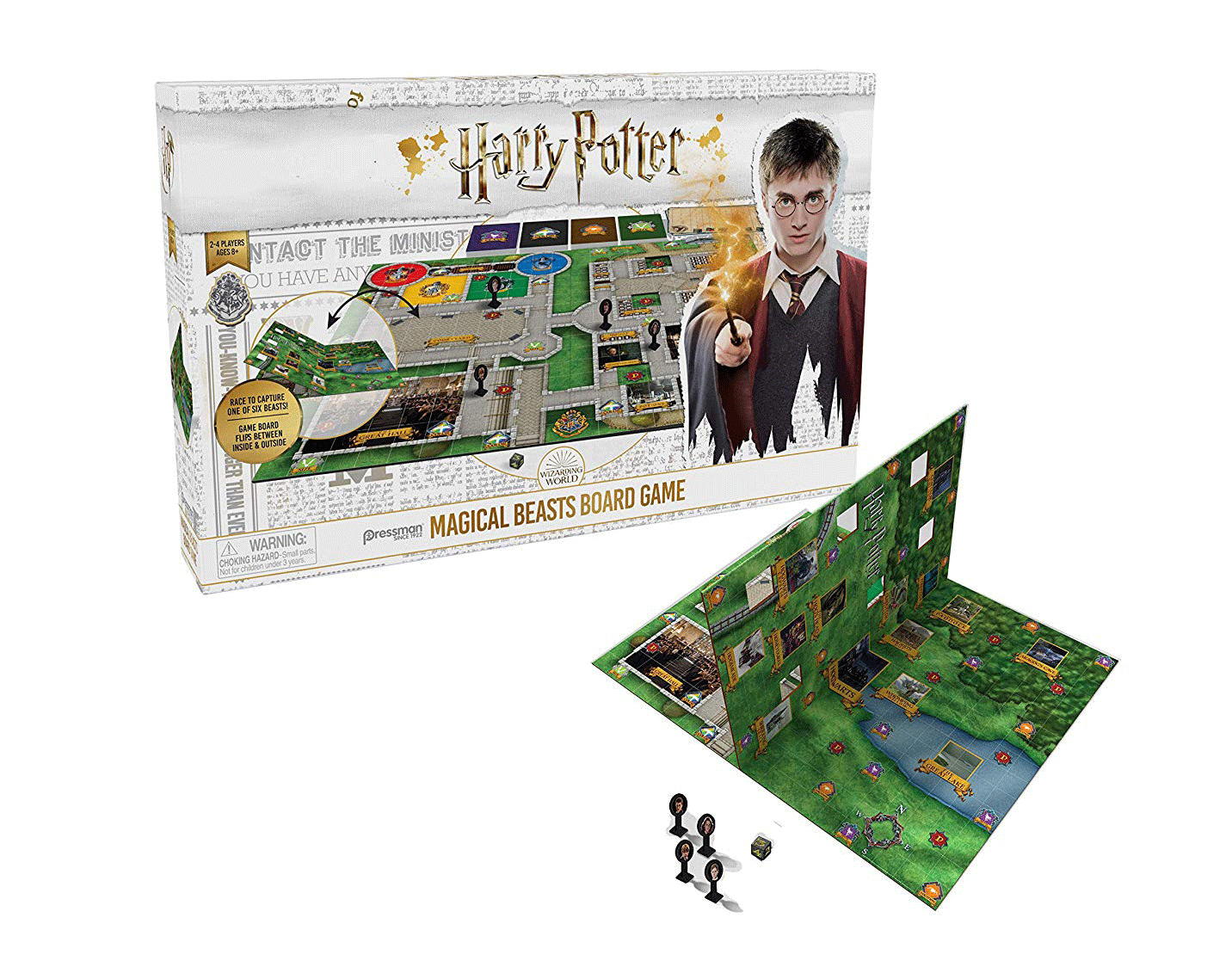 HARRY POTTER MAGICAL BEASTS BOARD GAMES