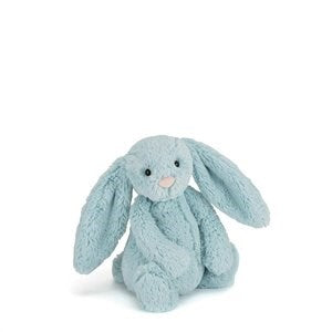 JELLYCAT BASHFUL BUNNY AQUA SMALL