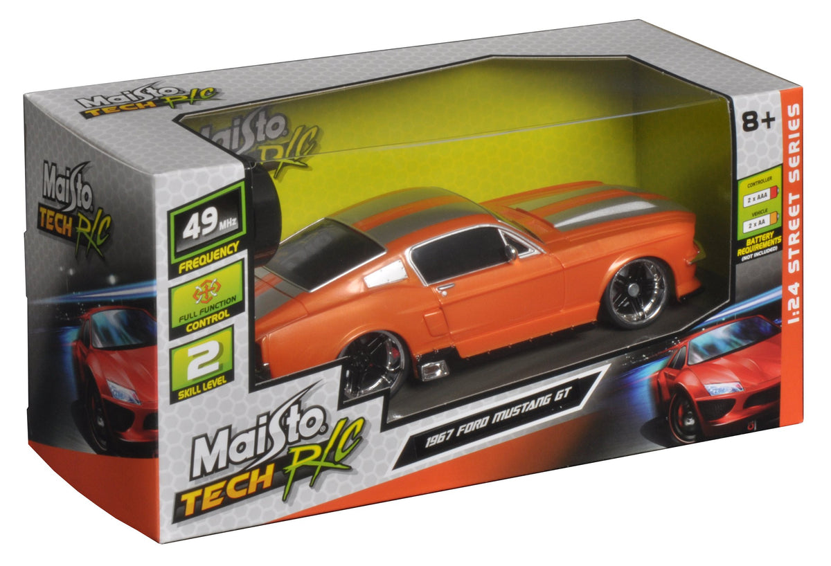 MAISTO RC 1:24 1967 FORD MUSTANG GT | MAISTO | Toyworld Frankston
