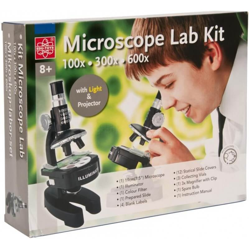 EDU-SCI MICROSCOPE LAB KIT