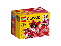 LEGO 10707 RED CREATIVITY BOX | LEGO | Toyworld Frankston