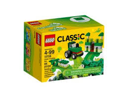 LEGO CLASSIC GREEN CREATIVITY BOX 10708 | LEGO | Toyworld Frankston