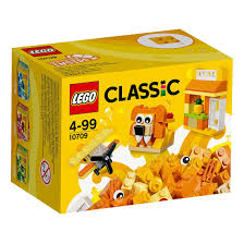 LEGO CLASSIC ORANGE CREATIVITY BOX 10709 | LEGO | Toyworld Frankston
