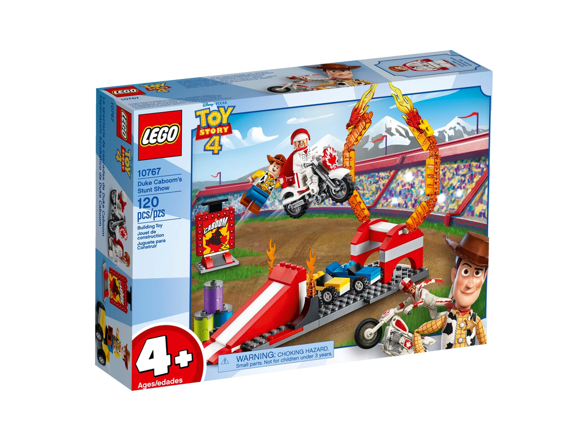 LEGO TOY STORY 4 DUKE CABOOMS STUNT SHOW