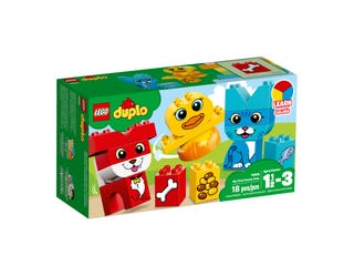 LEGO 10858 DUPLO MY FIRST PUZZLE PETS | LEGO | Toyworld Frankston