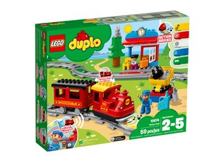 LEGO 10874 STEAM TRAIN | LEGO | Toyworld Frankston