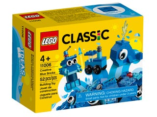 LEGO 11006 CREATIVE BLUE BRICKS | LEGO | Toyworld Frankston