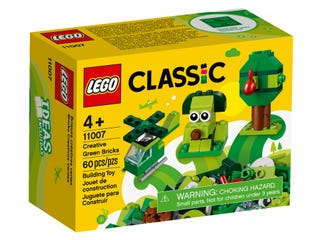 LEGO 11007 CREATIVE GREEN BRICKS | LEGO | Toyworld Frankston