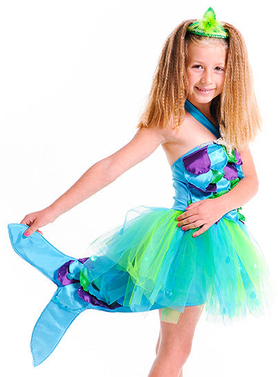 SPLASH MERMAID DRESS - MEDIUM