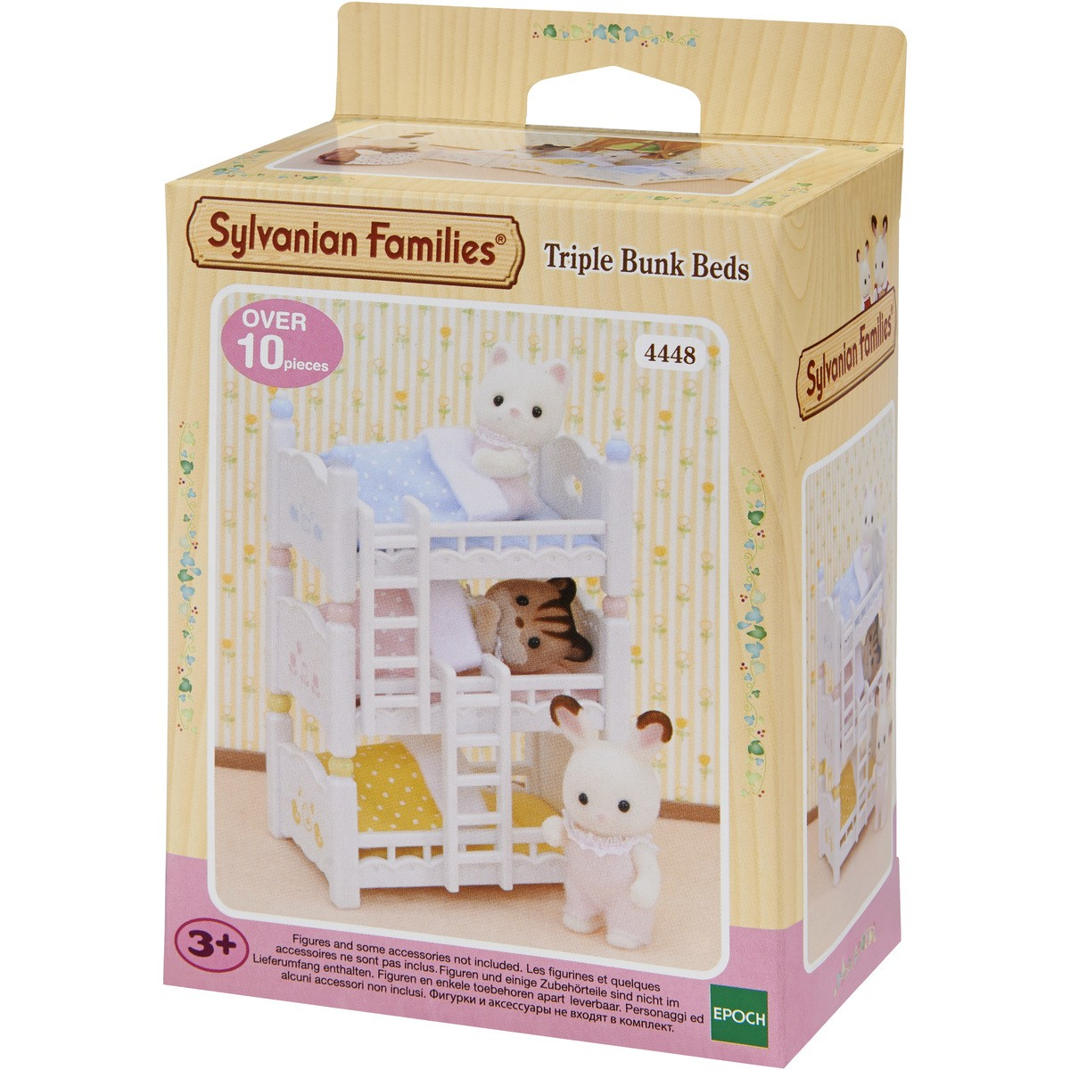 SF - TRIPLE BUNK BEDS | SYLVANIAN FAMILIES | Toyworld Frankston